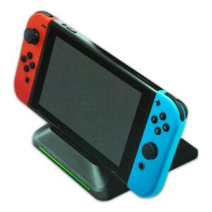 Base cargadora para Nintendo Switch y porta juegos