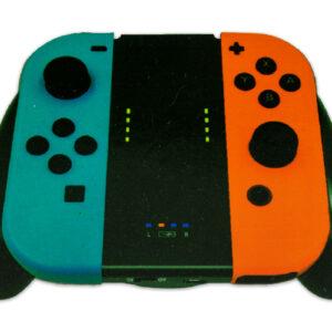 Grip cargador para control de Nintendo Switch